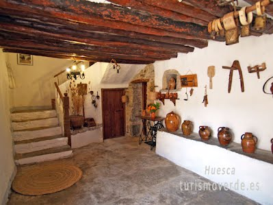 TURISMO VERDE HUESCA. Casa Javier de Rodellar